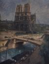 Париж. Нотр-Дам. 1924