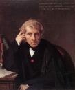 1841 Портрет Луиджи Керубини (81.3 х 71.1 см) (Цинциннати, Музей исткусства)