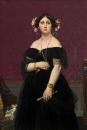 1851 Портрет мадам Муатессьё (147 х 100 см) (Вашингтон, Нац. галерея)