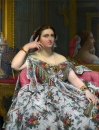 1856. Портрет мадам Муатессьё (120 х 92.1 см) (Лондон, Национальная галерея)