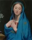 1858 Мадонна Благовещения (69.5 х 56.8 см) (Мельбурн, Нац. галерея Виктория)