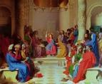 1862. Отрок Христос среди израильских учителей (265 х 320 см) (Монтобан, музей Энгра)