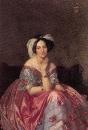 1848. Портрет баронессы де Ротшильд (141.9 х 101 см) (частное собрание)