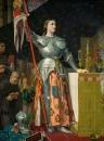 1854 Жанна дАрк на коронации Карла VII в Реймском кафедральном соборе в 1429 году (240 х 178 см) (Па