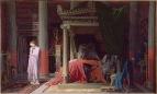 1840. Болезнь Антиоха или Антиох и Стратоника (77 х 61 см) (Шантильи, музей Конде)