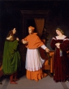 1813-1814,Обручение Рафаэля с племянницей кардинала Биббиены (59.1 х 46.5 см) (Балтимор)