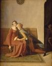 1814. Паоло, Франческа и Ингресс (35 х 28 см) (Шантильи, музей Конде)