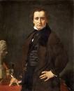 1820, Портрет скульптора Лоренцо Бартолини (108 х 85 см) (Париж, Лувр)