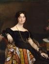 1823 Мадам Жак-Луи Леблан (урожденная Франсуаза Понсель, 1788-1839) (119.4 х 92.7 см) (Нью-Йорк, Мет