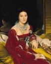 1814, Портрет мадам Сеннон (Нант, Музей изобразительных искусств)