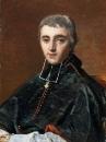 1816 Аббат Бональ (12 х 9 см) (Париж, Лувр)