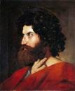 1820, Голова святого Матфея (55 х 46 см) (Париж, Лувр)