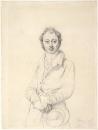 1830 (ок) Археолог Дезире-Рауль Рошетт (карандаш) (Вена, Альбертина)