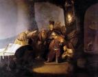 Иуда возвращает тридцать сребереников