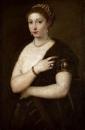 Портрет девушки с мехом