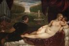 Венера, органист и Купидон