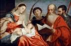 Мадонна с Младенцем и святыми Стефаном, Иеронимом и Маурицием