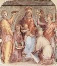 Мария с младенцем Иисусом и святыми