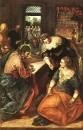 Христос в доме Марфы и Марии. 1570-1575. Мюнхен. Старая Пинакотека