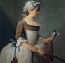 Девочка с ракеткой и воланчиком 1740,