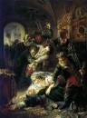 Агенты Дмитрия Самозванца убивают сына Бориса Годунова. 1862