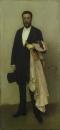 Композиция черный цвет: Портрет Теодора Дюре. 1883-84.