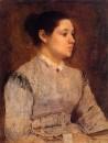 Портрет молодой женщины (1864-1865)