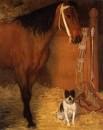 Лошадь и собака (1862)
