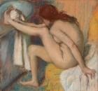 Женщина вытирающая ногу (1885-1886)