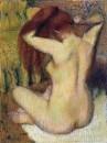 Женщина, расчёсывающая свои волосы (1888-1890