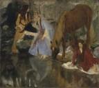 Портрет мисс Евгении Fiocre в балете 'Источник' (ок.1867-1868)