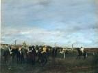 Перед скачками (1871-1872) (Вашингтон, Национальная галерея)