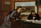 Размолвка (ок.1869) (32.4 х 46.4) (Нью-Йорк, Метрополитен)