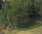 Пруд в лесу (ок.1867-1868)
