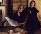 Портрет Анри де Га и его племянницы Люси де Га