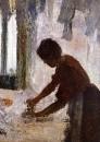 Гладильщица (1873) (Нью-Йорк, музей Метрополитен)