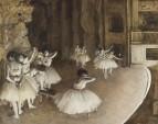 Репетиция на сцене (1874) (Нью-Йорк, музей Метрополитен)