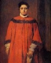 Девушка в красном (1873-1876) (98.9 х 80.8)