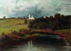 Вид села Варварина. 1878