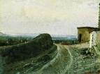 Дорога на Монмартр в Париже. 1875-1876