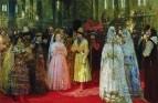 Выбор царской (великокняжеской) невесты. 1884-1887