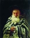 Еврей на молитве. 1875