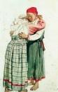 Две женские фигуры (Обнимающиеся крестьянки). 1878