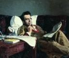 М.И.Глинка в период сочинения оперы Руслан и Людмила. 1887