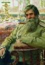 Портрет невропатолога и психиатра В.М. Бехтерева. 1913