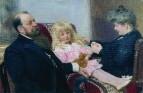 Семейный портрет Деларовых. 1906