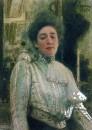 Портрет Александры Павловны Боткиной. 1901