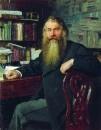 Портрет историка И.Е.Забелина. 1877