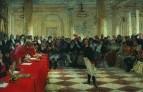 А.С.Пушкин на акте в Лицее 8 января 1815 года. 1911