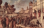 Рукоположение святого Стефана в диаконы